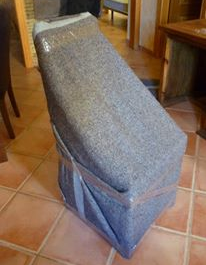 mantas proteccion sillas embalajes mudanzas