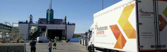 Mudanzas marítimas en camion a baleares ibiza removals on ferry to mallorca