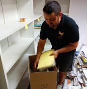 embalaje de archivos documentación traslado mudanzas en valencia