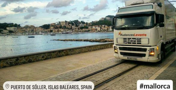 Mudanzas Mallorca Removals to Majorca Baleares International Moving Puerto de Soller