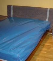 fundas plástico colchón embalaje mudanzas