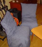fundas acolchadas para sillas embalajes mudanzas