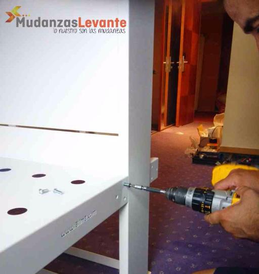montador de muebles profesional en valencia mudanzas