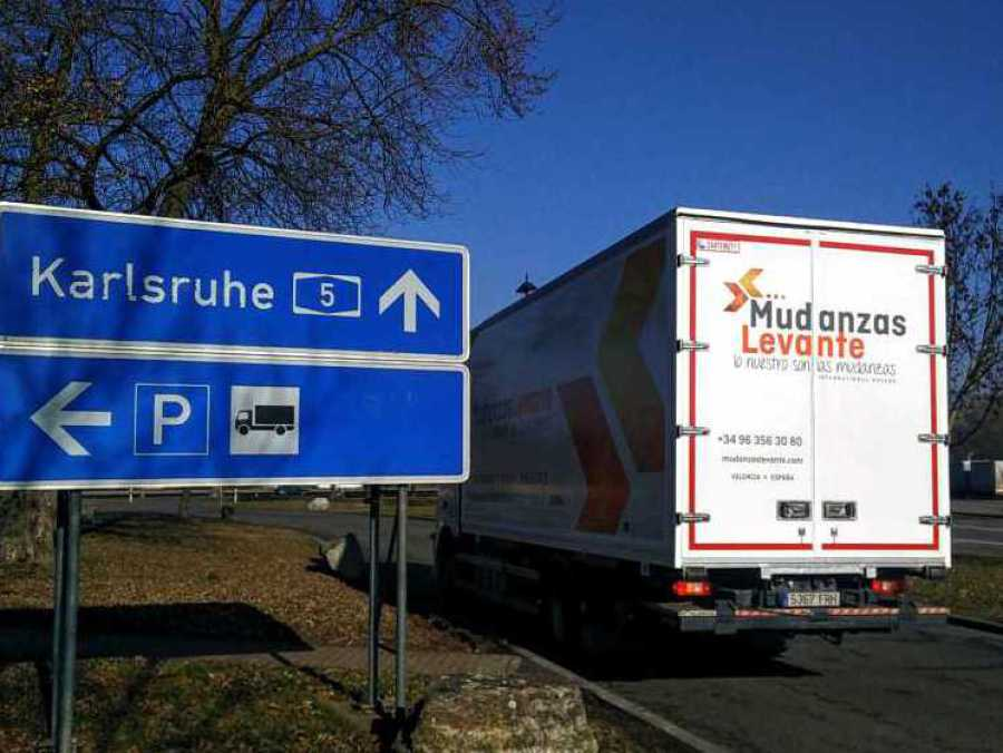 Mudanzas Alemania umzug Internatonale Deuchland Moving International Removals to Germany
