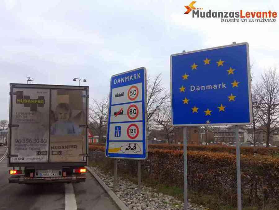 Mudanzas Dinamarca flytt International Denmark Moving International Removals to Denmark