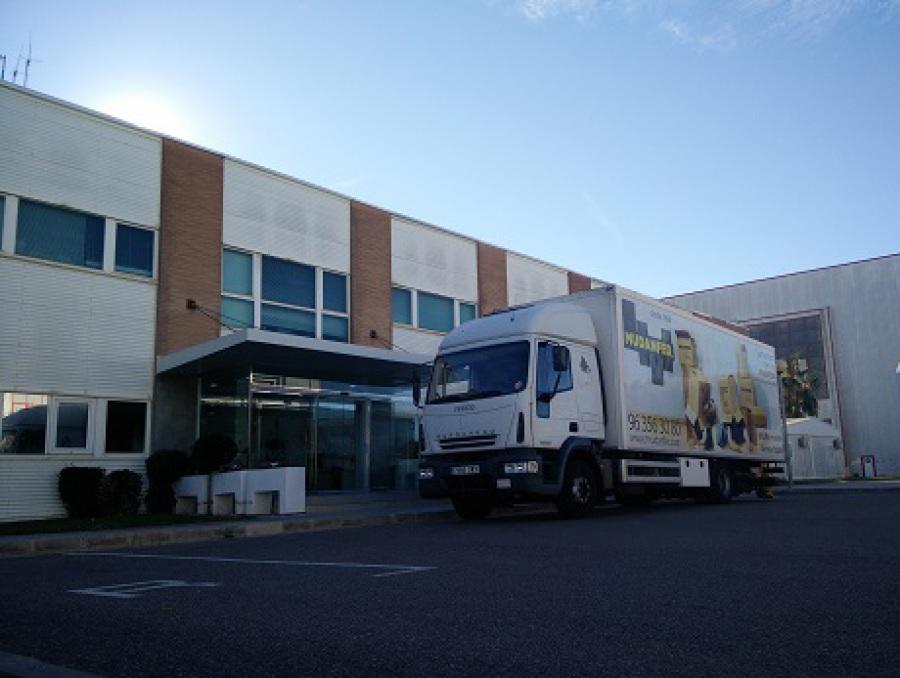 Empresa Mudanza Oficina y Empresa en Valencia Mudanzas Levante