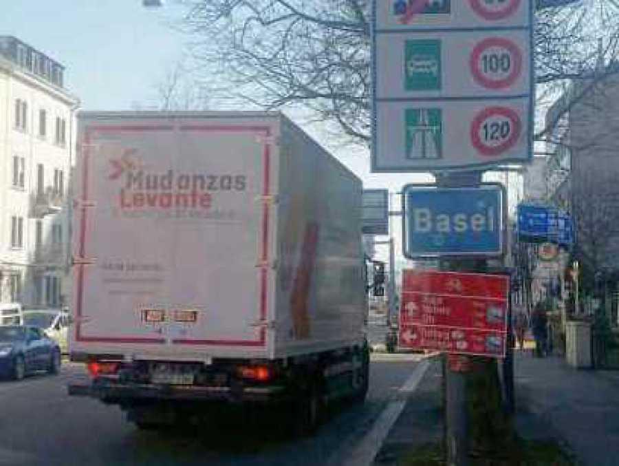 Mudanzas Suiza umzug Internatonale Suisse Moving International Removals Suiza