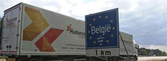 Mudanzas España Bélgica