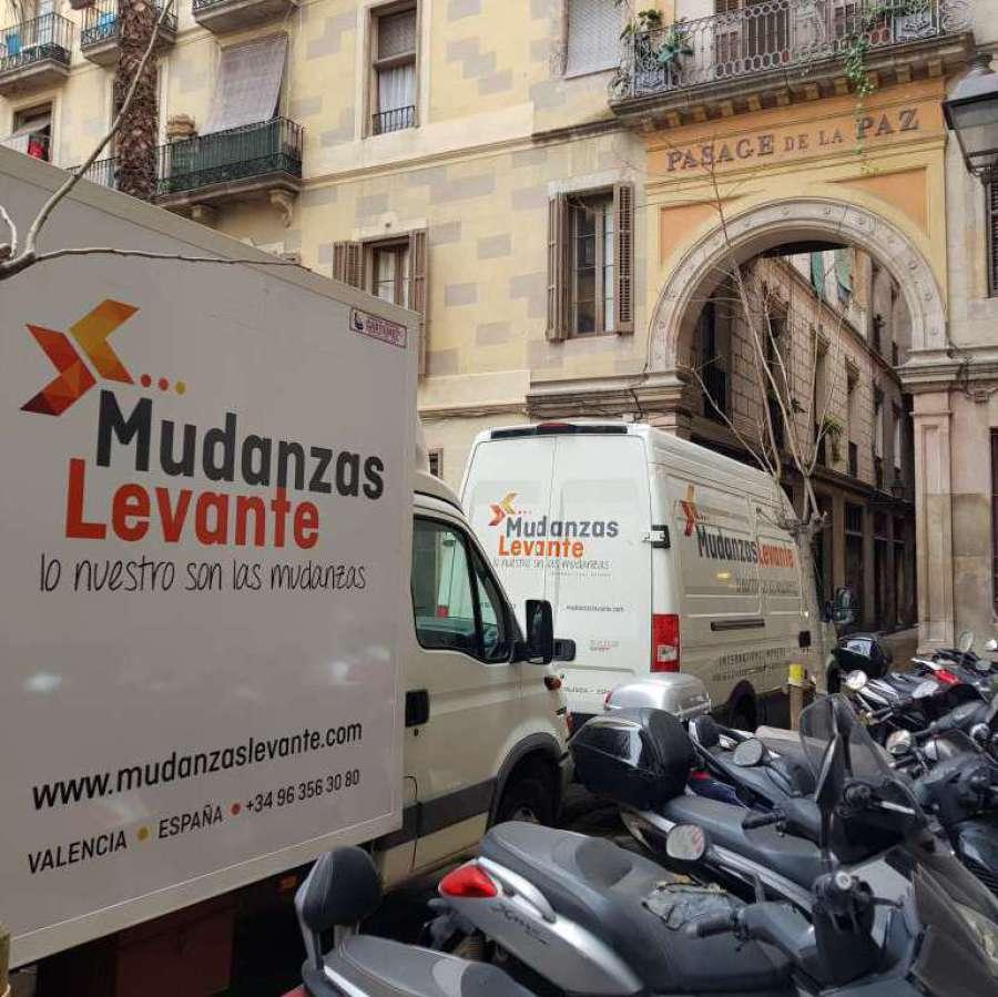 Mudanzas de Barcelona a Valencia
