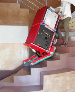 oruga sube escalera de mercancías maquinas vending fotocopiadoras cajas fuertes Mudanzas Levante
